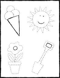 op de stippellijnen tekenen - kleurplaat kleurprent tekening Summer Activities For Kids, Crafts For Kids, 4 Image, Dotted Line, Activity Sheets, Drawing For Kids, Math Games, Colouring Pages, Book Crafts