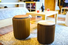 Tabourets pliants Stooly Foldable stools Stooly  42 cm (right) - 35 cm (left)