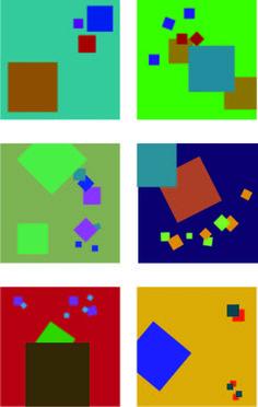 Kleur-op-kleurcontrast