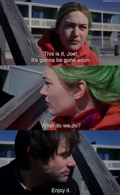 Eternal Sunshine of the Spotless Mind - my favorite film :-) Series Quotes, Film Quotes, Love Movie, Movie Tv, Citations Film, The Blues Brothers, Movie Club, Favorite Movie Quotes, Eternal Sunshine