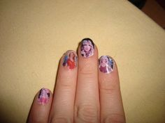 Apparently this is how Taylor Swift paints her nails, with Sally Hansen complete salon manicure nail polish. Description from pinterest.com. I searched for this on bing.com/images