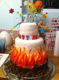 bonfire night cake for all your cake decorating supplies please