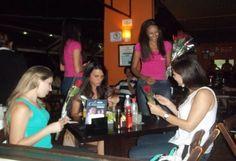 Presenteamos as mulheres na noite de Campinas, no dia 24/11, em alguns bares e restaurantes!