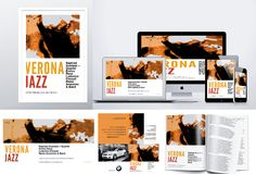 Giulia Cerantola Visual Designer Brand Identity Verona Jazz