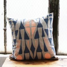 Oslo Pillow Cover 16 x 16 by leah duncan