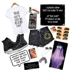 Might be too much right?? by clumsycinderella2992 on Polyvore featuring polyvore fashion style Converse Forever 21