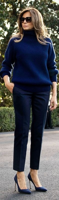 First Lady Melania Trump in Victoria Beckham