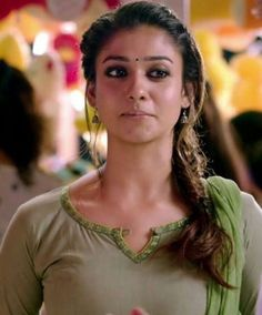 Nayantara in Mass movie Chudidhar Designs, Chudi Neck Designs, Salwar Neck Designs, Dress Neck Designs, Kurta Designs, Most Beautiful Indian Actress, Beautiful Actresses, South Indian Actress, India Beauty