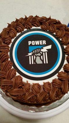 Port power AFL football birthday cake