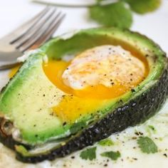 "There's isn't much I do not like with an avocado but wow, egg might be one of my favorites. That is no surprise, you've all seen me fry an egg inside an avocado a la ""egg in the hole."" Well here is one more way to love avocados and eggs, right?"