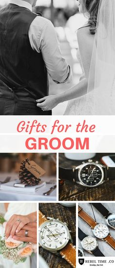 Wedding Gifts Dads watches and other ideas - Also great for Best Man Gifts, Groomsmen gifts, Brother of the bride gifts, anniversary gifts, and more  - If you love quality aviator watches as much as we do, shop http://www.rebeltime.com/watches