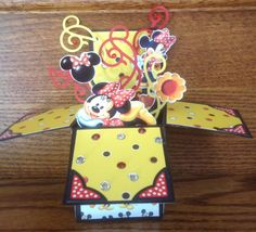 Hand made Disney pop up card