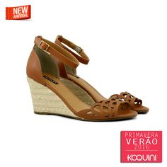 Você vai adorar o calce e o conforto desta #anabela #koquini #sapatilhas #euquero Compre Online: http://koqu.in/1Yll1Wr