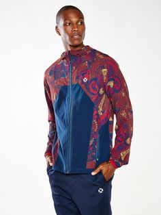 Without Walls Printed Run Jacket - Without Walls