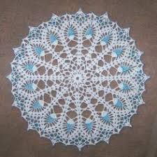 Blue Glass Seed Beaded White Pineapple Doily 13 034 Hand Crocheted New Seed Bead Patterns, Doily Patterns, Beading Patterns, Crochet Bedspread, Crochet Doilies, For You Blue, Bead Crochet, Bead Crafts, Pretty In Pink