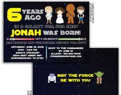 Invitación para imprimir de Star Wars por PrintYourOwnInvites