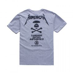 Rock those streets with BAPE! Check out this AAPE Apunvs T-Shirt by A Bathing Ape available at fusionswag.com #BAPE #ABathingApe #tees #tshirt #Apunvs #AAPE #urbanwear #streetfashion #streetwear