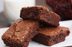 Brownies with chocolate chunks