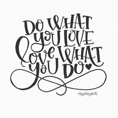 Do What You Love Letteritapril