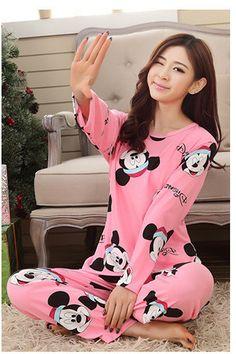 Cheapest New Autumn Winter Women Pyjamas Thin Long Sleeve Pajamas Set Student Tracksuit Tops Female Pyjamas Sets Night Suit Sleepwear Girls Sleepwear, Sleepwear Sets, Girls Pyjamas, Pijamas Women, Pajamas For Teens, Pajama Suit, Pajama Pants, Pajama Pattern, Night Suit
