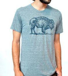 Unisex Buffalo Crewneck T-Shirt