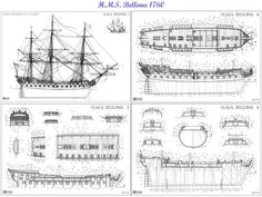 (via 16th, 17th and 18th Century Ship Blueprints... - Art References | Mechanics and Schematics ...