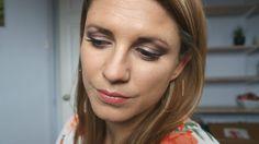 One Palette, 3 Looks - Romance & Jewels - Look three - brown, shimmery eye makeup