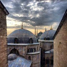 View From a Bedroom Window in Turkey