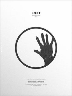 Lost (2004–2010) ~ Minimal TV Series Poster by Christopher Conner #amusementphile