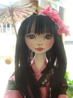 Bonecas de pano. Japonesas. Soraia Flores.