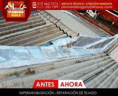 Impermeabilización y reparación de tejados #impermeabilización #reparación #tejados #Bogota