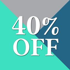 Need a good reason to come into our store? Shop and save 40% today only on ponchos jackets and sweaters