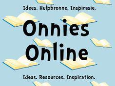Onnies Online Teaching Aids, Teaching Resources, Afrikaans Language, Preschool Letters, Alphabet Letters, Career Quotes, Success Quotes, Drama Teacher, Teacher Helper