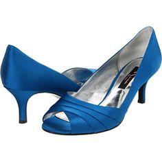 Nina Criana Azul Satin - Zappos.com Free Shipping BOTH Ways