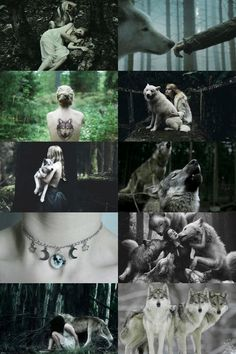 wolf witch aesthetic (requested) more here // request here