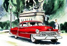 1951 Cadillac - Promotional Advertising Poster