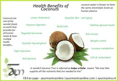 Benefits of coconuts Coconut Water Benefits, Health And Wellness, Health And Beauty, How To Regulate Hormones, Coconuts, Lower Cholesterol, Vinegar, Coconut Oil, Healthy Living
