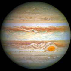 The Solar System's colossus; Jupiter. Mind blowing space facts about the Universe for astronomy / astrophysics fans! Also make sure to visit www.kidsinorbit.com - 100% dedicated to kids science / astronomy! Image: NASA / ESA  A. Simon, Goddard Space Flight Center