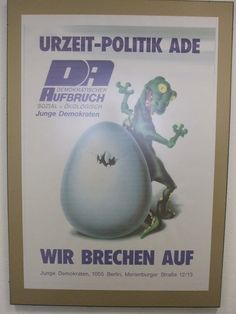 Junge Demokraten, youth wing of Demokratischer Aufbruch/Democratic Awakening, East Germany 1990 East Germany, Party Poster, Political Party, Vintage Posters, Awakening, Politics, Guys, Poster Vintage