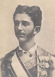 His Royal Highness Danilo, Crown Prince of Montenegro (guessing on the style). (1871-1939) Those are some low set ears.