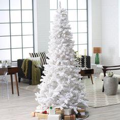 40 Awesome and Inspiring White Christmas Decorating Ideas | moco-choco