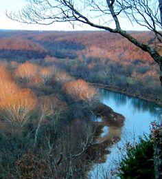 Missouri Ozarks | Gasconade River, Ozark Hills, Missouri Photo