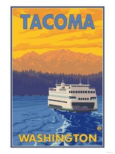 Tacoma , Posters and Prints at Art.com