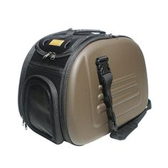 Ibiyaya Classic Pet Carrier Coffee >>> To view further for this item, visit the image link.