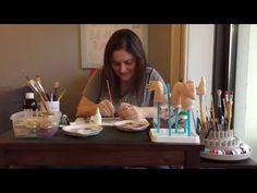 Bebe Reborn - Início da pintura - YouTube