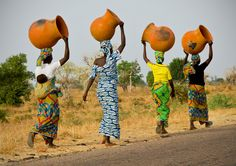 in Garoua, North Cameroon