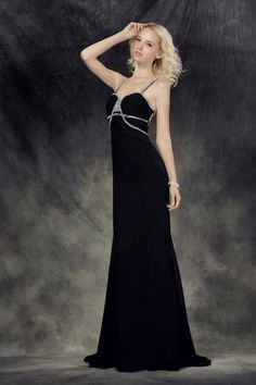 (CLICK IMAGE TWICE FOR DETAILS AND PRICING) Stylish A-line Spaghetti Straps Floor-length Chiffon Prom Dress SAL1917-TB - See More Spaghetti Straps at Womens Dresses at http://www.zbrands.com/Spaghetti-Straps-Womens-Dresses-C58.aspx