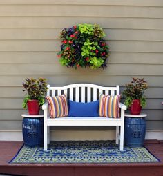 Pamela Crawford Living Wall Planter w/ Liner Living Wall Planters - Pamela Crawford Living Wall Plan Porch Furniture, Outdoor Furniture Sets, Outdoor Decor, Furniture Ideas, Outdoor Seating, Furniture Stores, Cheap Furniture, Modern Furniture, Living Wall Planter