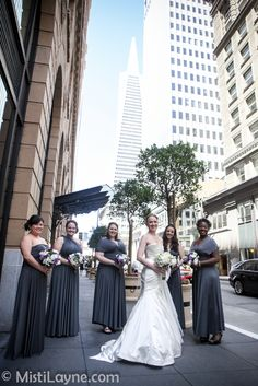 Omni Hotel Wedding, San Francisco  Documentary Wedding Photographer Misti Layne