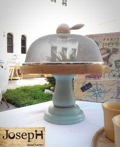 Handmade Cake stand  in wood lathe
